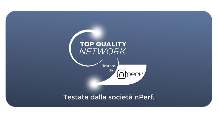 Wind Tre Business Top Quality Network